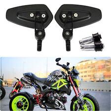 "7/8"" Motorcycle Handle Bar End Mirrors For Honda Grom 125 msx Kawasaki z125 pro"