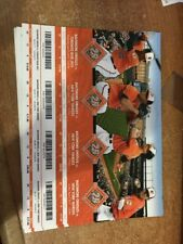 2017 BALTIMORE ORIOLES SEASON TICKET STUB PICK YOUR GAME MACHADO DAVIS JONES 2