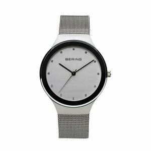 Bering Ladies Watch Wrist Watch Slim Ceramic - 12934-000 Meshband