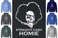 Randy Moss STRAIGHT CASH HOMIE Hoodie Sweatshirt NFL Minnesota Viking Hooded