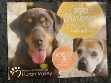 2021 Dog humane society calander (standard wall size)