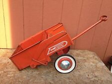 Old Vintage 1960's Murray Dump Trac Ride On for Pedal Tractor Car Trailer Wagon