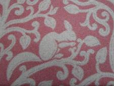 """Sanderson Cortina/Tela de tapicería """"Ardilla & Paloma' 3.25 metros de lana de cerezas"""