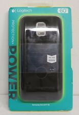 Logitech Protection + Power Battery case Samsung Galaxy S5, Black, NEW