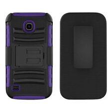 Étuis, housses et coques avec clip violet pour téléphone mobile et assistant personnel (PDA) Huawei