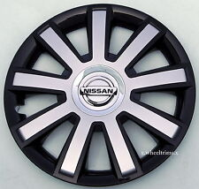 "Set of  4x 16"" wheel trims to fit  NISSAN PRIMASTAR,PRIMERA,ALMERA"
