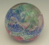 CAITHNESS SCOTLAND MOSAIC ART GLASS PAPERWEIGHT ALASTAIR MCINTOSH 1992