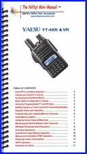 Nifty Accessories Mini-Manual for the Yaesu FT-4XR & FT-4VR