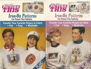 Plaid - Picture This Iron On Patterns Seaworthy & Best of the Best  4 Designs