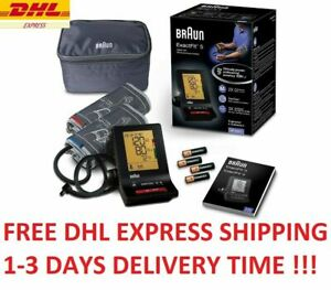 BRAUN Exactfit 5 BP6200 Upper Arm Blood Pressure Monitor + DHL Express Shipment