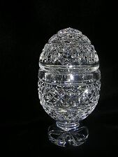 WATERFORD CRYSTAL EGG 1980'S NEW