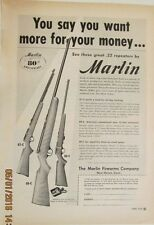June, 1950 Marlin 80-C, 81-C, 88-C original, vintage magazine advertisement