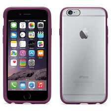 "NEW GRIFFIN REVEAL 4.7"" IPHONE 6 6S SLIM CASE COVER BUMPER SHELL IN PURPLE CLEAR"