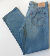 Men's Levis 752 Straight Leg Jeans W34 L31 Blue Size 34R Levi Strauss