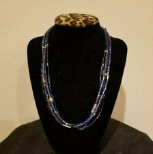 """Silpada """"Into The Blue"""" Lapis And Sterling Silver Necklace"""