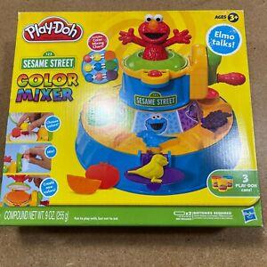 Play Doh Sesame Street Elmo Talks Color Mixer Includes Color Mixing Chart