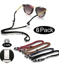 Suede Sports Sunglass Holder Strap Safety Glasses Eyeglasses Neck Cord String