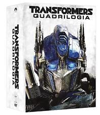 Dvd Transformers Quadrilogia (4 DVD) ......NUOVO