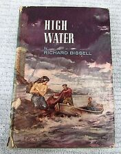 Old 1954 High Water by Richard Bissell Naked Woman Rescue Dust Jacket FREE S/H