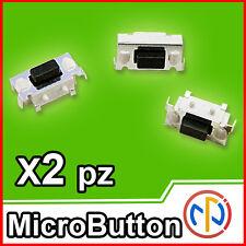 2X Micro pulsante SMD 3x6x3.5 Push tactile Button NA ricambio tablet,computer