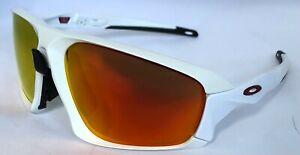 Oakley Field Jacket - Matte White with Prizm Ruby Lens - OO9402-02