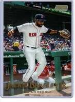 Jackie Bradley Jr. 2019 Topps Stadium Club 5x7 Gold #17 /10 Red Sox