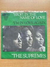 "7"" vinyl - The Supremes - Stop! In The Name Of Love (1965)"