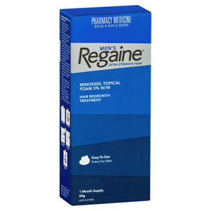 REGAINE Mens Extra Strength Foam 1 Months Supply 1 x 60g HAIR LOSS - Free Post