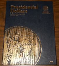 Presidential Dollars Whitman coin folder starting at 2012 number two 2182 #399