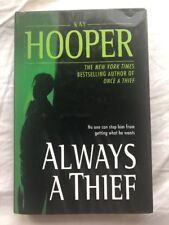 Always a Thief by Kay Hooper hard cover book club 2003