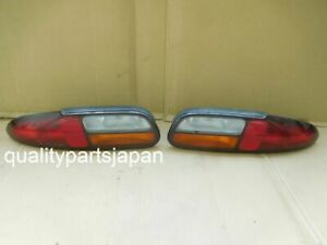 Chevrolet Camaro Tail Lights Rear Lamps Taillights Amber Left Right b