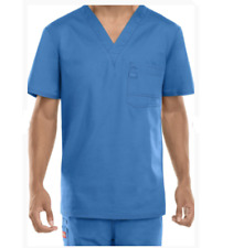 {LG} Dickies Medical Uniform Scrub Top Evolution NXT Men's V-neck CEIL 81800