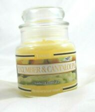 Yankee Candle Cuccumber and Cantaloupe 3.7 oz. Housewarmer Small Unused