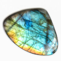 Cts. 17.30 Natural Purple Fire Labradorite Cabochon Heart Cab Loose Gemstones