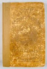 School Reader First Book Antique Charles Sanders 1862 Philadelphia Sower Co (O)