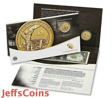 2015 W Native American $1 Coin & Currency Set Enhanced Unc Sacagawea Iron Worker