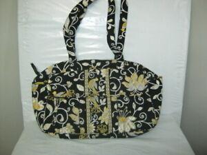 Vera Bradley Yellow Bird Diaper Bag Baby Tote 11.5 x 15 x 5 GUC