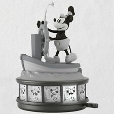 Hallmark 2018 ~ Disney Mickey Mouse Steamboat Willie 90th Anniversary Ornament