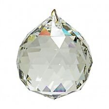 AB (Aurora Borealis) Crystal Ball Prism Pendant Suncatcher 30mm
