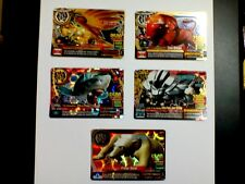 Animal Kaiser Evolution Evo Version Ver 8 Super Rare (5 Cards)