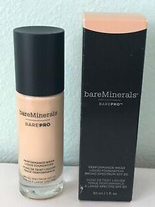 BareMinerals BarePro Performance Wear Liquid Foundation Choose Your Shade