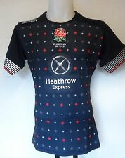 ENGLAND RUGBY  2014/15 ALT 7'S PRO JERSEY BY CANTERBURY SIZE BOYS 8 YEARS