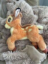 "Disney Store Bambi Plush Deer Stuffed Animal Toy Soft Floppy 11"" Plush"