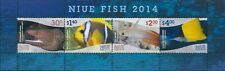 Niue 2014 SG1120 Fish MS MNH