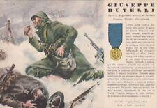 A6132) WW2, GRECIA, M. O. BUTELLI DA SAMBUCA PISTOIESE, 3 FANTERIA PIEMONTE. VG.