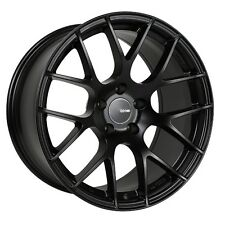 18x9.5 Enkei RAIJIN 5x120 + 35 Black Wheels (Set of 4)