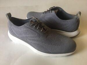Cole Haan 3.ZEROGRAND Wingtip Oxford Shoes Ironstone Stitchlite C30607 Mens 9.5M