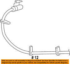 FORD OEM Front Brake-Flex Hose DL1Z2078B