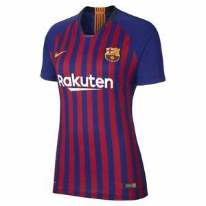 Nike Womens FC BARCELONA VAPORKNIT Aeroswift MATCH Home Shirt, Large 923675-456