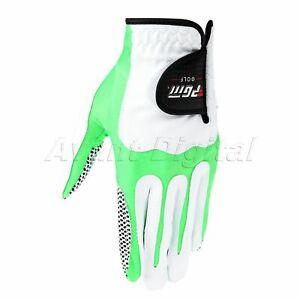 Sport Men Golf Gloves Left Right Hand Anti Skid Gloves Breathable 5Size Practice